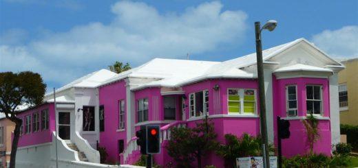 Bermuda Hamilton Colori delle case