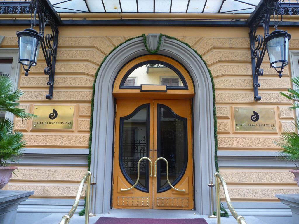 Firenze Hotel Albani Ingresso